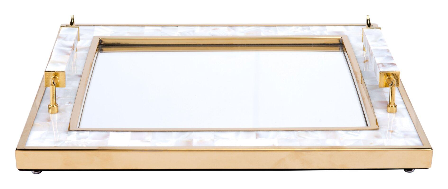 Mirror Decorative Tray