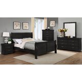 Susie Sleigh 5 Piece Bedroom Set by Charlton Home
