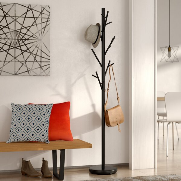 Mercury Row Freestanding Black Coat Rack & Reviews by Mercury Row