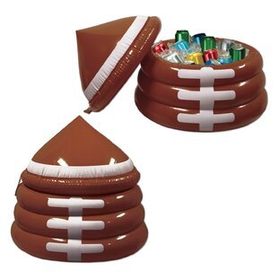 The Beistle Company 24 Can Inflatable Football Cooler