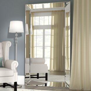 floor mirror. primm rectangle antique floor mirror
