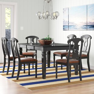 Pennington 7 Piece Solid Wood Dining Set