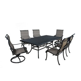Darby Home Co Kempf 7 Piece Dining Set