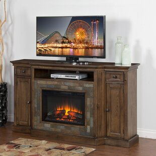 Birney TV Stand for TVs up to 72 with Fireplace by Loon Peak