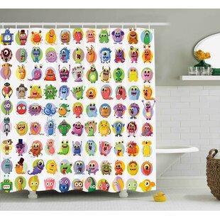 Best Janis Shower Curtain ByZoomie Kids
