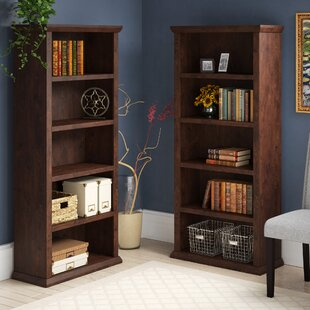 Three Posts Ferrell Standard Bookcase (Set of 2)