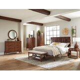 Bessette Queen Platform 4 Piece Bedroom Set by Corrigan Studio