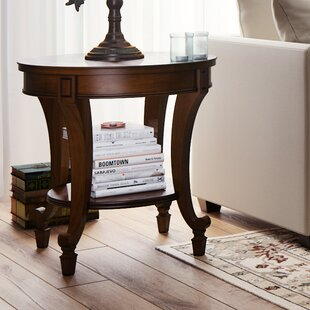 Fitchett End Table by Three Posts