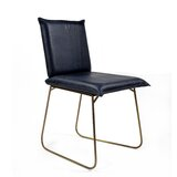 Apaui Genuine Leather Upholstered Dining Chair (Set of 2) by Wrought Studio™