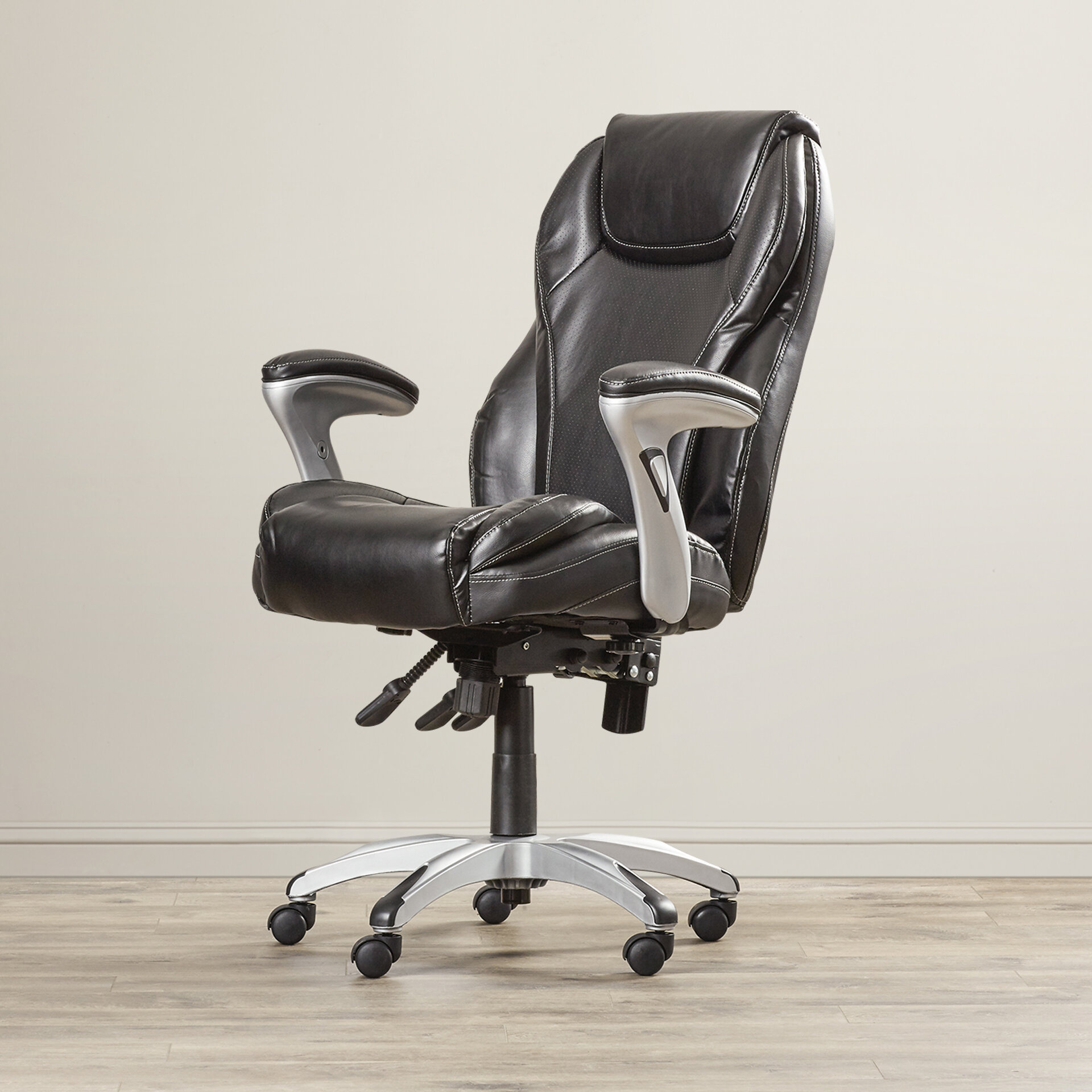 Serta At Home Ergo Ergonomic Executive Chair Reviews Wayfair
