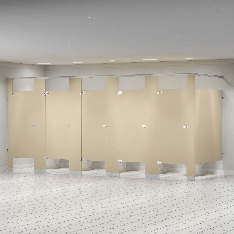 Bradley Corporation Baked Enamel Overhead Braced Toilet Partition Wayfair