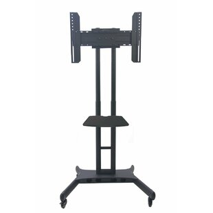 Trolley Display Exhibition Fixed Floor Stand Mount For 32