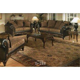 Oswego Wood 3 Piece Coffee Table Set Astoria Grand