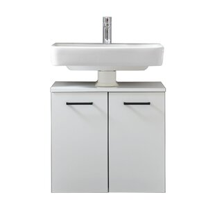 Belgrad 600mm Wall Mounted Under Sink Cabinet By Quickset