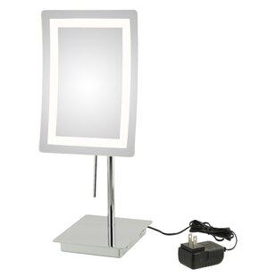Price Check Ellizabeth Single Sided LED Makeup/Shaving Mirror ByOrren Ellis