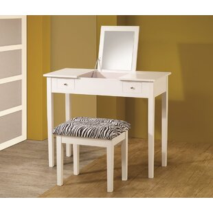 House of Hampton Chesson Contemporary Vanity Set with Mirror