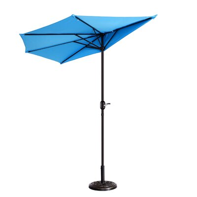 Colburn Half 9 Market Umbrella by Freeport Park Best Design