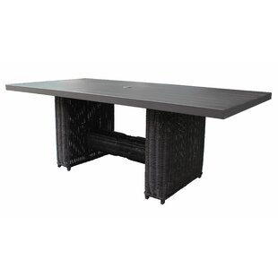 Mejia Metal Dining Table by Ro..