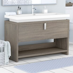 Reviews Haycraft 47.25 Single Modern Bathroom Vanity Set By Orren Ellis