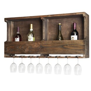 Bosworth 8 Wall Mounted Wine Rack by Tren..