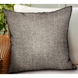 Carnahan Chevron Luxury Indoor/Outdoor Throw Pillow