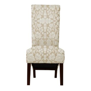 Langley Street Ramon Pandora Fabric Parsons Chair (Set of 2)
