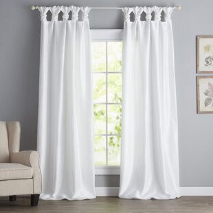 Rivau Tab Top Single Curtain Panel