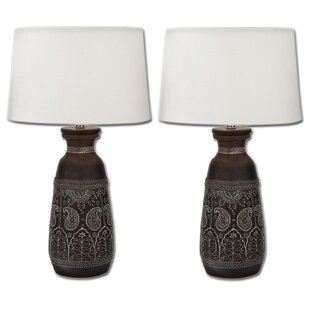 Artisan Unglazed 28 Table Lamp (Set of 2)
