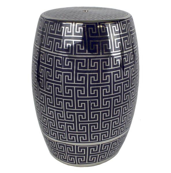 Sagebrook Home Ceramic Garden Stool | Wayfair