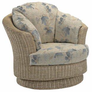 Fabela Swivel Tub Chair By Beachcrest Home
