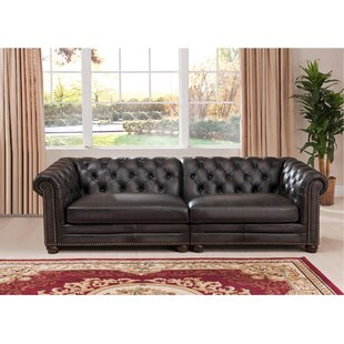 Altura Leather Chesterfield Sofa
