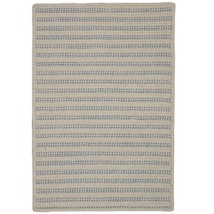 Tidewater Striped Hand-Woven Natural Indoor/Outdoor Area Rug