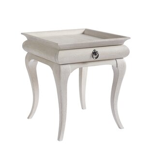 Tennille End Table with Storage by August Grove