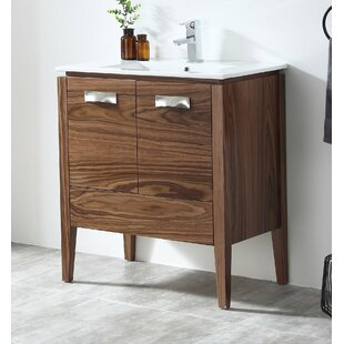 Burkes 30 Single Bathroom Vanity Set By George Oliver