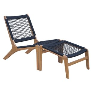 Dundee Patio Chair with Ottoman