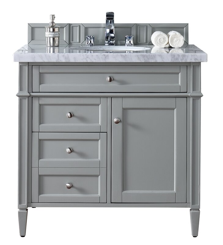 "Bathroom Vanity Base james martin furniture brittany 36"" single bathroom vanity base"