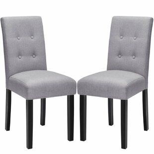 Merax Classic Fabric Side Chair (Set of 2)