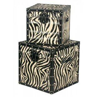 Lajoie 2 Piece Trunk Set By Bloomsbury Market