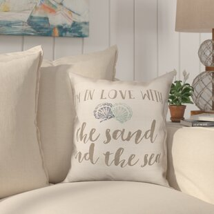 Heiss Beach Love Throw Pillow