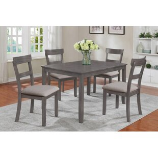 Arshavir 5 Piece Counter Height Dining Set by Gracie Oaks