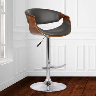 Alvin Adjustable Height Swivel Bar Stool