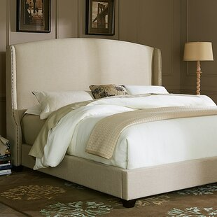 Agda Upholstered Panel Bed by Birch Lane™ Heritage New Design