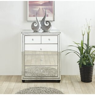 Laster Crystal 5 Drawer Chest