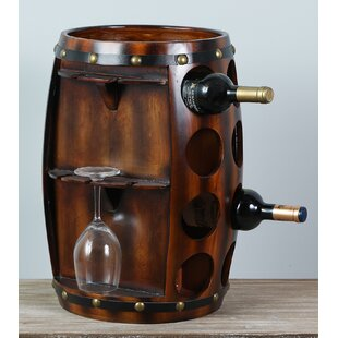 Dickson 8 Bottle Floor Wine Rack by Millwood Pines