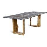 Marceline Solid Wood Dining Table by Loon Peak®