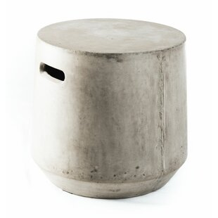 Concrete Firkin Stool by My Spirit Garden