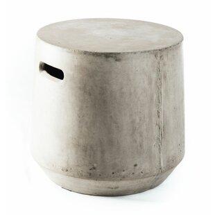 Concrete Firkin Stool by My Spirit Garden