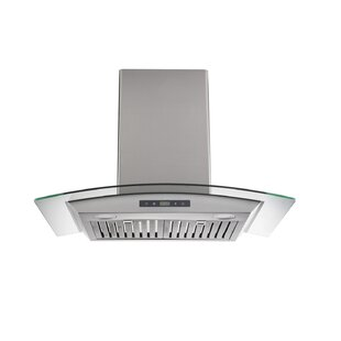 30 400 CFM Ducted Wall Mount Range Hood