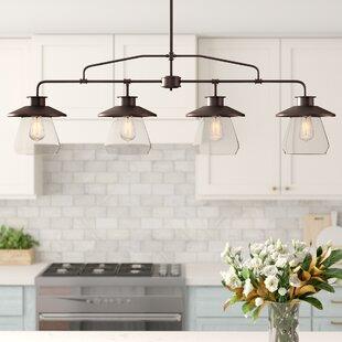 Ledbury 4 Light Kitchen Pendant Joss Main
