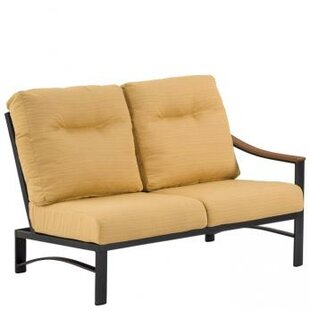 Brazo Woven 2-Seat Module Sectional Piece with Cushions by Tropitone